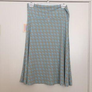 L LuLaRoe Azure Skirt B02 532